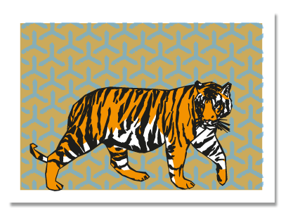 """Chinese zodiac sign """"Tiger"""""""