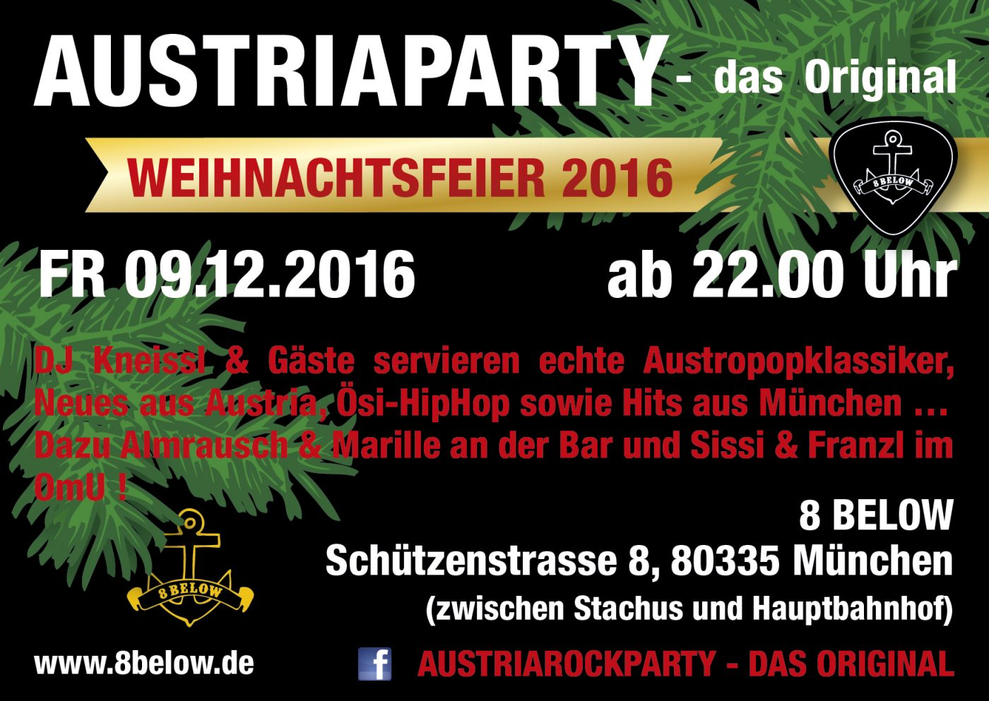 Austria Party christmas special rear side 2016