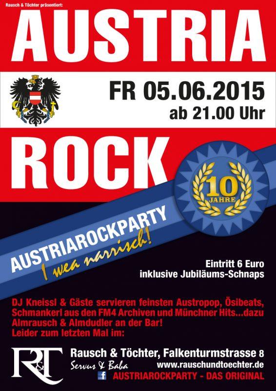 Austria Rock 10th anniversary @ Rausch&Töchter