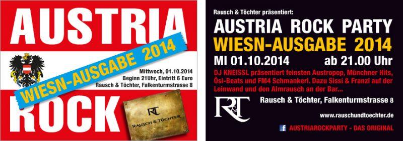 Austria Rock Oktoberfest Special 2014 at Rausch&Töchter