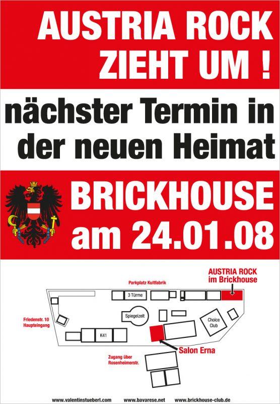 Austria Rock moving to Brickhouse